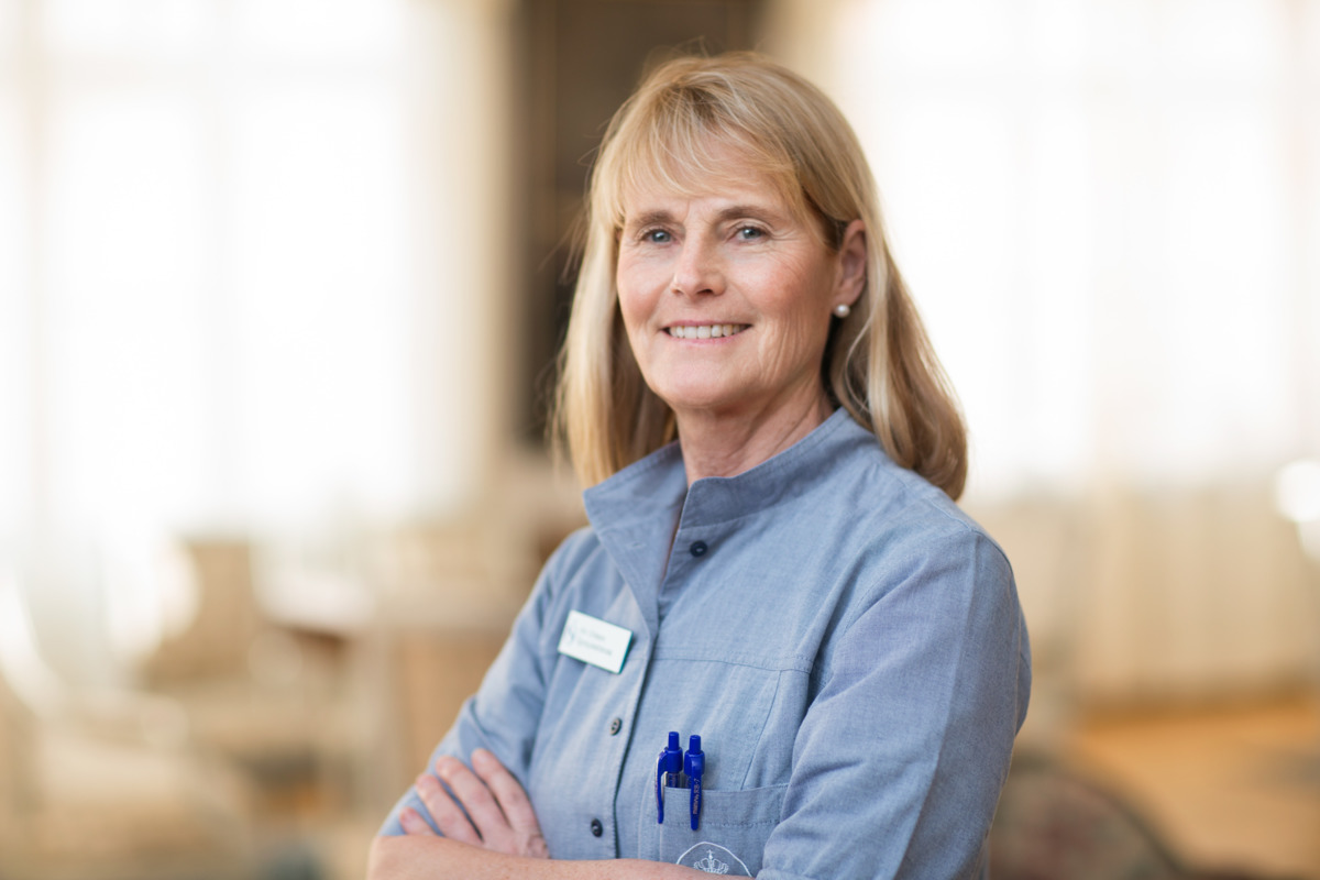 Ann Eriksson Head of unit, ophthalmology nurse, head of surgical operations