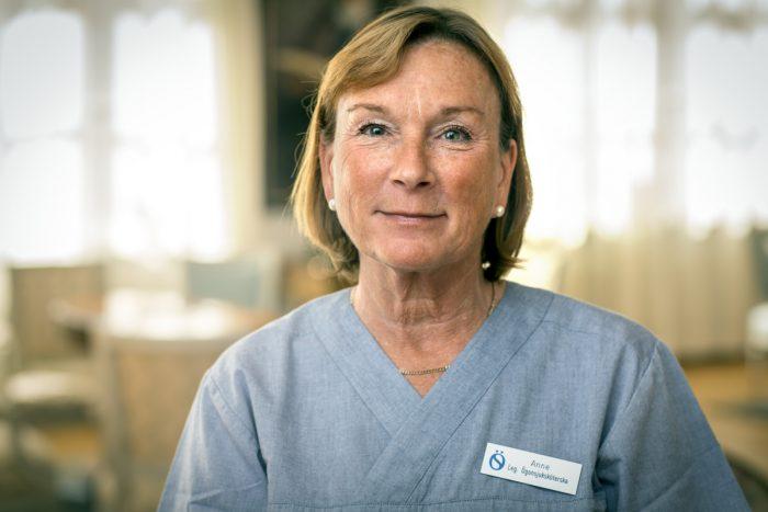 Anne Sohlberg Ophthalmology nurse