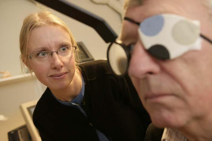 Synfältsundersökning Stockholms Ögonklinik