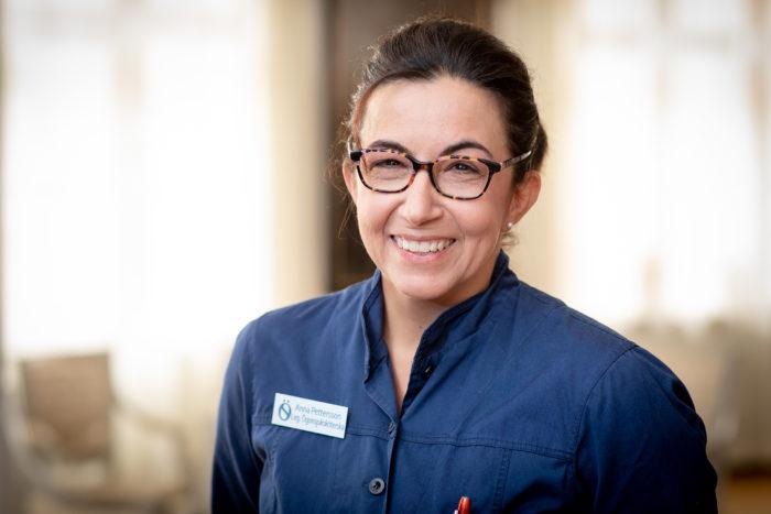 Anna Pettersson Ophthalmology nurse