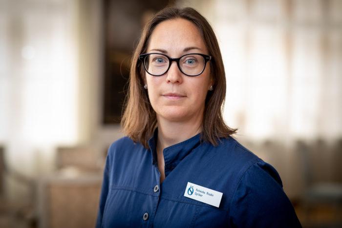 Rebecka Rosén Optiker, magisterexamen, Medicine doktor