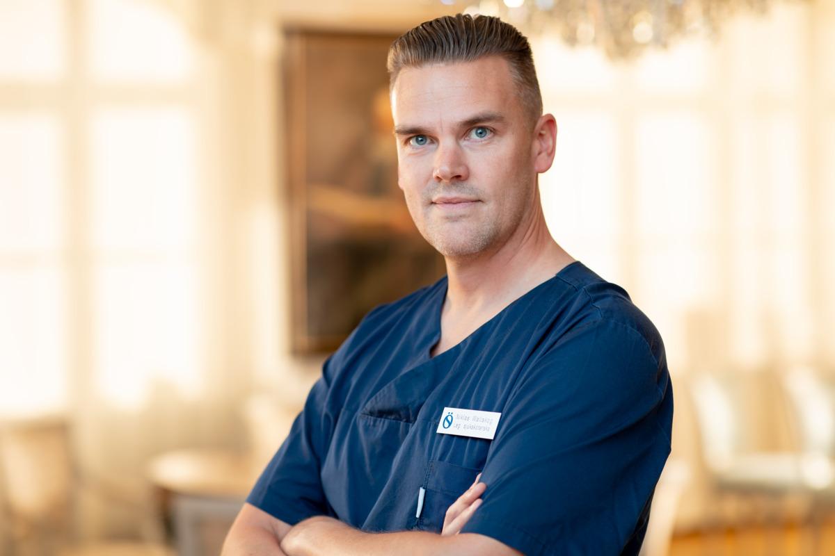 Niklas Wallskog Head of surgical operations, nurse